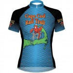 Blue Lobster bike jersey