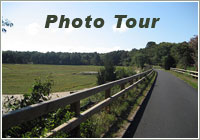 Cape Cod Rail Trail photo tour