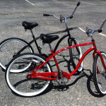 Single speed rental bikes